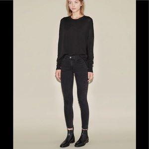 Acne Studios Skin 5 Skinny Crop Jeans